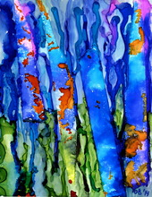 Alcohol Ink Painting 3 (thumbnail)